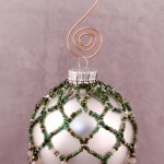 Evergreen Beaded Ornament