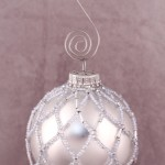 Icicle Beaded Ornament