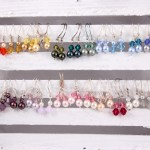 Many Colorful Earrings for Little Girls, or Ladies Who Like Petite Earrings