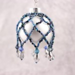 Mid-Winters Night Mini Beaded Ornament