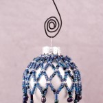 Midnight Mini Beaded Ornament