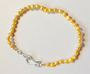 Something Sunny Seed Pearl Bracelet $20
