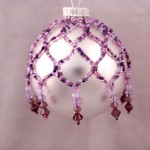 Purple Beaded Ornament