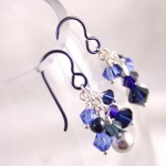 Midnight Blue Swarovski Clusters