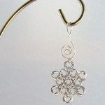 Silver Chainmaille Snowflake
