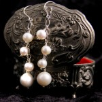 Freshwater Pearls on Sterling Silver Chain